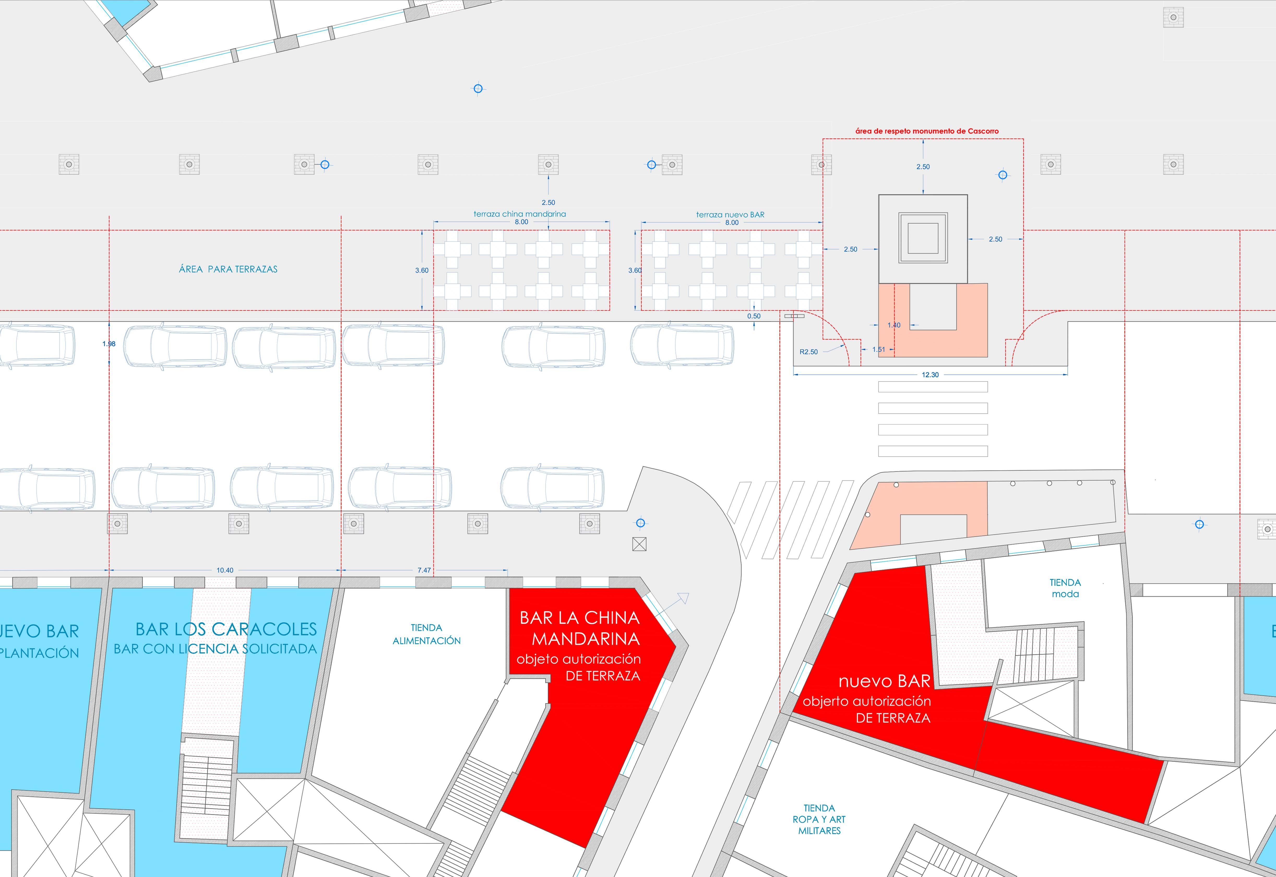 Terraza de veladores licencias de actividad for Cerramiento terraza sin licencia